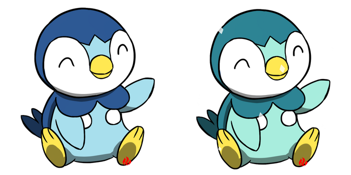 Pokemon #393 - Piplup by Fyreglyphs