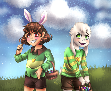 An Easter-rific Holiday [+Speedpaint] by Shimmer-Shy
