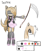 Contest::Serina Profile by Sandy-the-echidna
