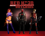 Red Hood and The Outlaws Poster by gasa979
