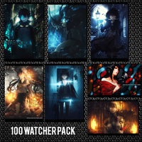 100 Watcher Pack by Mr-pA