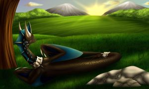 Look Upon The Horizon by VDragon-Creations