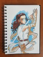 Day 125 Rey by TomatoStyles