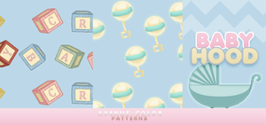 Babyhood // PATTERNS by Avenue-color