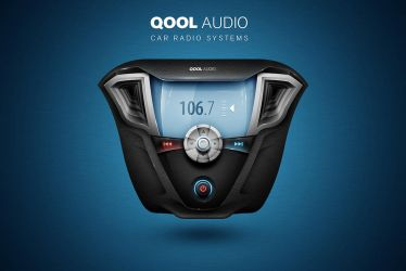 QOOL AUDIO Player Interface by Andasolo