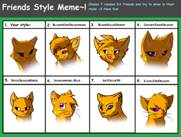 Friends Style Meme by Urnam-BOT
