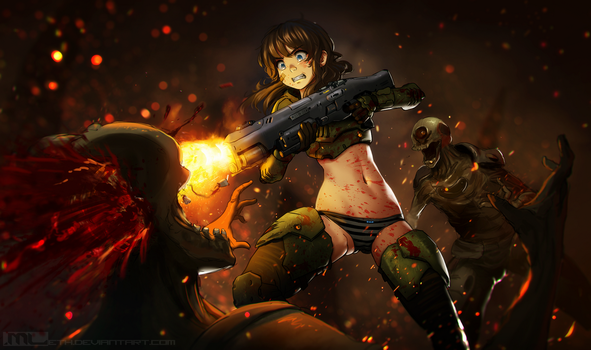 DOOMGIRL by MLeth