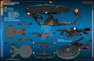 USS Discovery Data Sheet by Kodai-Okuda
