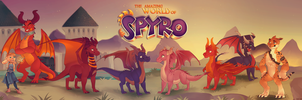 the amazing world of spyro by schl4fmuetze