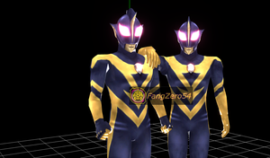 -MMD-Ultraman Shadow model Update by Fangzero54 by FangZero54