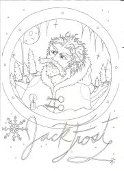 Jack Frost - Lineart by pun