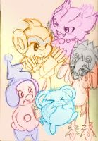M is for Mischievous- Sketch by Chibixi