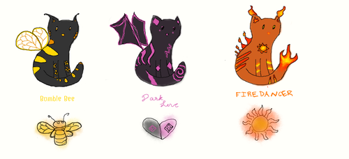 Creative Cats (OPEN 2/3) by TheCourageousCat