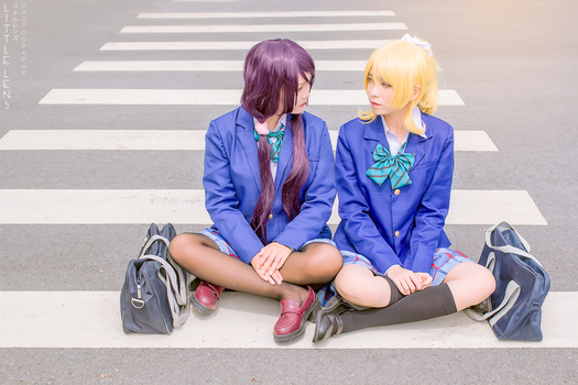 Love Live - Look at me, Nozomi-chan. by S-Ronnie