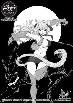 Beastmaster Witch by ADSouto
