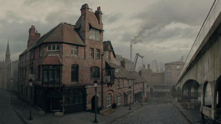 Old industrial area of London by 1Ver4ik1