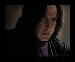 Severus Snape - One single view... by RedPassion