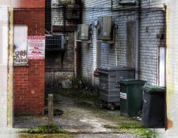 Corner down a back alley. by jon3782001