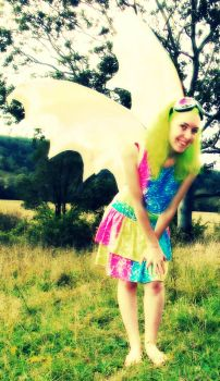 Fluoro Fairy 2 by monstatofu2011