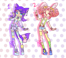 Decora Adopts [ CLOSED ] by hello-planet-chan