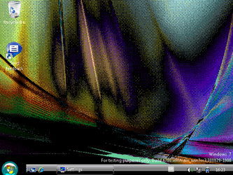Windows 7 Build 6780 in 16 colors ! by OltScript313