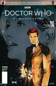 Doctor Who: The Road to the 13th Doctor #2 cover by RobertHack