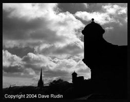 Turrets and Towers, Edinburgh by DaveR99