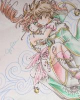 New Trials Sakura and Syaoran by shiyaechan by NewTrials