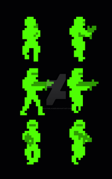 Isometric sprite movement by DecaydBlacked