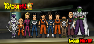 Team Universe 7 - 700TH DEVIATION by LoganWaynee