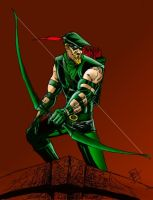 Green Arrow by RamonVillalobos