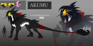 :: Akumu Reference Sheet:: by ZheyZhey