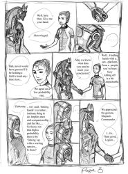 Significance of linking hands3 by drawanon