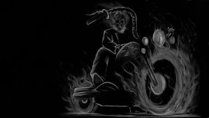 Ghost Rider by AngelBarrios