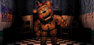 FNAF2 - Withered/old Toy Freddy + Video by Christian2099