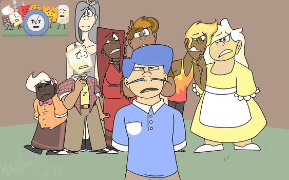 (BFB Screenshot Redraw) Losers McFreaking Lose by Art-Tart-Taffyness