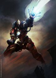 Steampunk IronMan by Magnusss