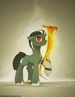 Charcoal by FoxInShadow