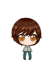 Silent Hill 4 - Henry Townshend Chibi by PrincessDevin302
