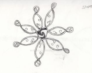 Doodle Flower by Cendra16