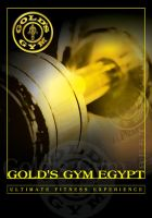 Gold's GYM Flyer by MagedB