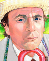Sylvester McCoy as The Doctor by The-Tinidril