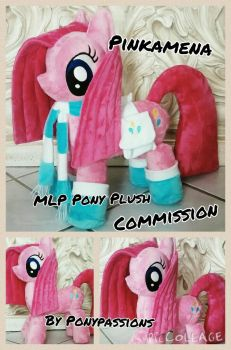 MLP Pinkamena Plush Plushie by Ponypassions by ponypassions