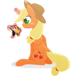 COMMISSION - Princess Applejack 2 by Emkay-MLP