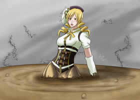 Magical Mami Quicksand (Giftart) by Lady-of-Mud