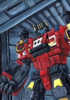 I serve at the will of Optimus Prime. by grim1978