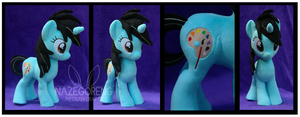 Andrea Ponysona Custom Plush by Nazegoreng