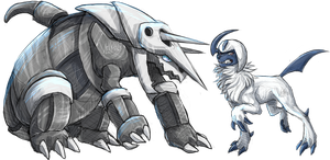 Aggron And Absol