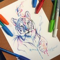 278- Pen Tiger by Lucky978