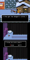 Undertale: Undyne's Letter to the wrong door by frisktrash